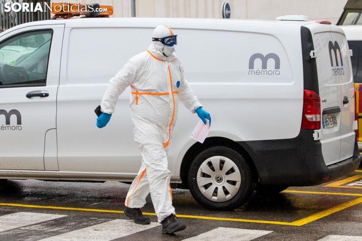 Coronavirus en Soria: semana negra con 19 muertos en el hospital