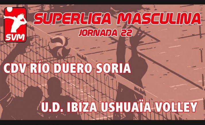 Foto 1 - DIRECTO: CDV Río Duero Soria - UD Ibiza Ushuaïa Volley