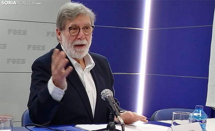 El soriano Santiago Aparicio, presidente de CEOE de CyL. /SN