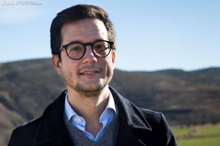 Tomás Cabezón, alcalde de Castilfrío de la Sierra. /María Ferrer