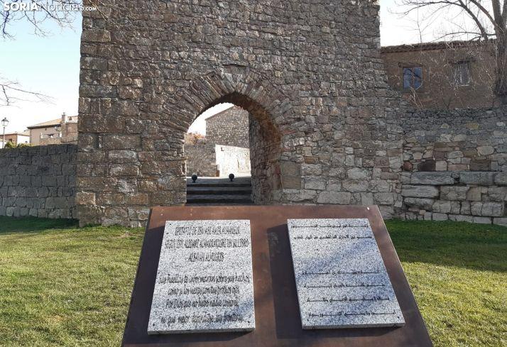 Puerta árabe de Medinaceli. /EM