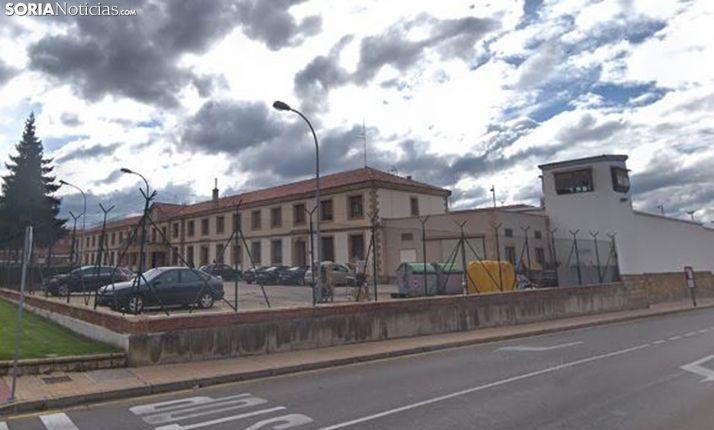 Una imagen del centro penitenciario de Soria. /GM