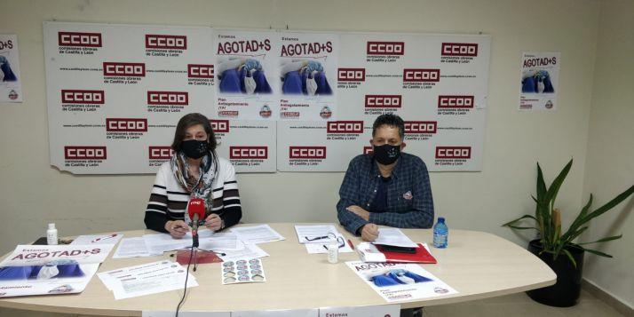 """Foto 1 - CCOO considera que a la Junta """"no le importa la salud"""" de los sanitarios y que su único objetivo es """"continuar con los recortes"""""""