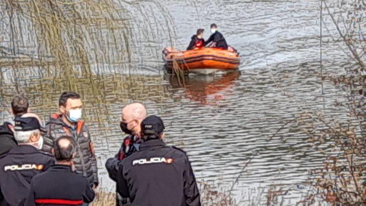 Foto 1 - Continúa la búsqueda del joven desaparecido en el Duero