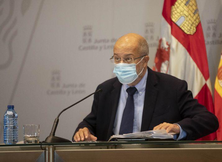 Francisco Igea: 'Doy todos los días gracias a Dios por tener que gestionar esto con el PP y no con el PSOE'