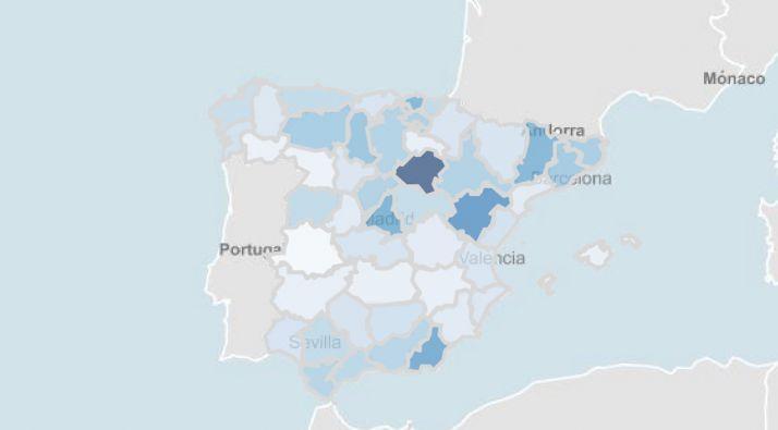 Foto 1 - Soria vuelve a tener la tasa de contagios más alta de España… un año después