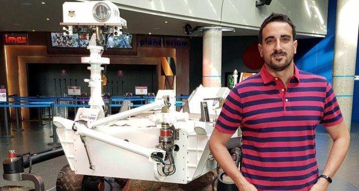 Mario García, talento soriano que llega hasta Marte