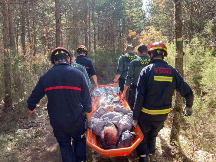 Rescatadas dos personas en Covaleda