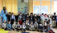 Una imagen de la jornada en el colegio de Escolapios. /ES
