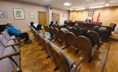 Una imagen de la reunión con los distintos colectivos.