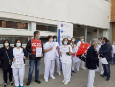 """Foto 4 - CCOO, CSIF y UGT piden a Verónica Casado que """"deje de sembrar discordias"""""""