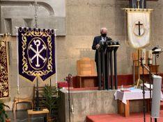 Galería de imágenes del pregón de la Semana Santa 2021 en Soria
