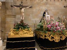 Galería pasos de Semana Santa en la Concatedral de San Pedro