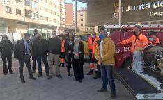 Nuevo material y medios para el voluntariado de Alconaba, Covaleda, Berlanga y Golmayo