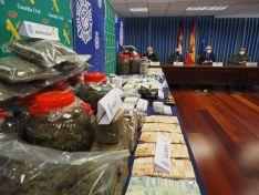7 detenidos y 67 kilos de droga incautados en Valladolid