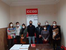 Foto 3 - Carlos Lázaro, nuevo secretario de Enseñanza de CCOO Soria