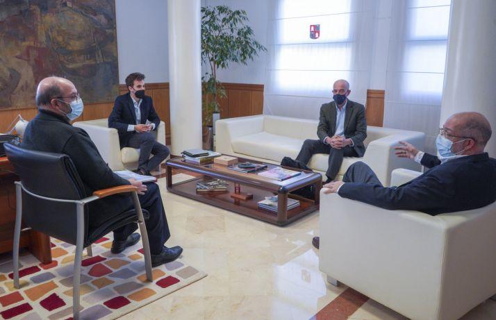 Foto 1 - Igea se interesa por la labor de la Fundación Arraigo para atraer población al medio rural