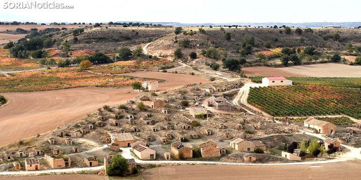 Bodegas de 'El Plantío' en Atauta.