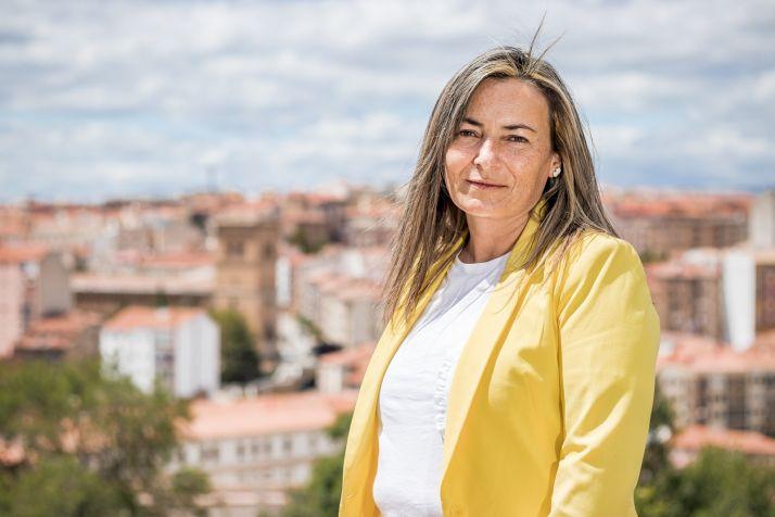 Begoña Redondo, concejal del PP en el Ayuntamiento de Soria.