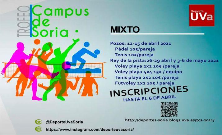 Foto 1 - Abiertas las inscricpiones para el Torneo Campus de Soria