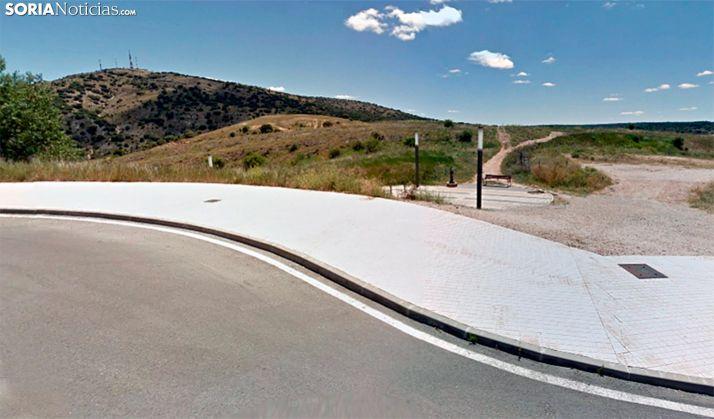 Foto 1 - Amigos del Numantino, contraria a urbanizar el Cerro de los Moros y aapoya un plan protector del castillo y de las riberas