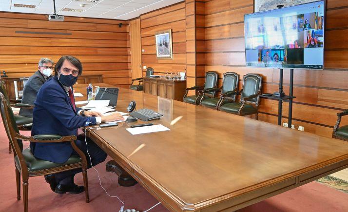 Suárez-Quiñones, durante el Consejo Consultivo de Política Agraria. /Jta.
