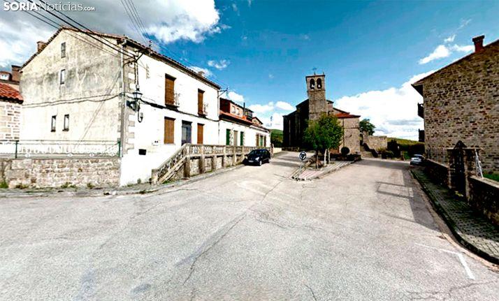 Una imagen del casco urbano de Covaleda. /GM