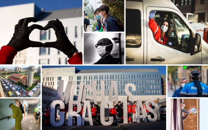 Foto 1 - Un año del Covid en Soria en 365 fotos: Difícil de recordar, imposible de olvidar