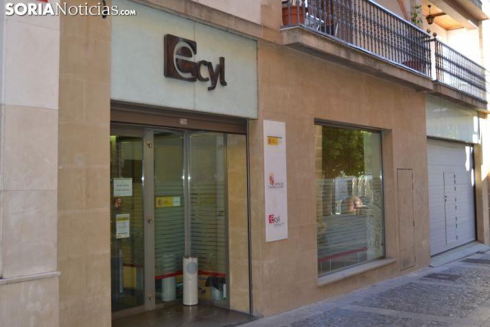 Oficina del ECYL en Soria capital.