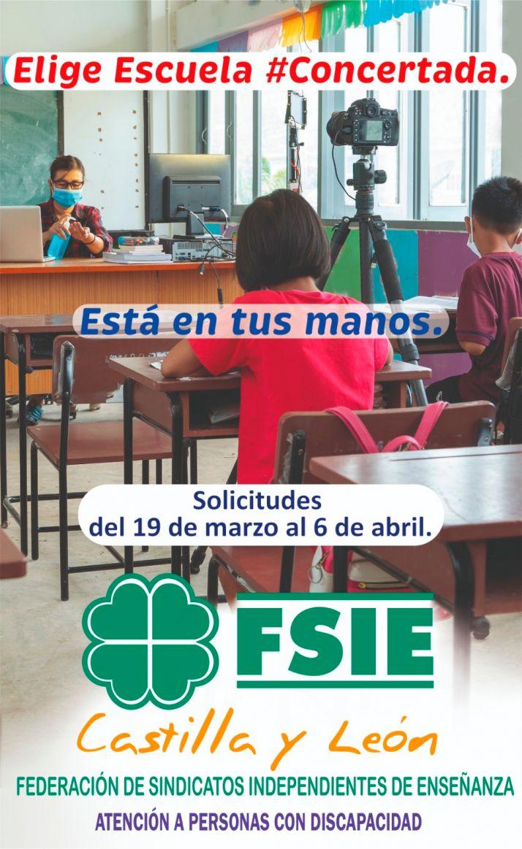 Foto 2 - FSIE invita a la matriculación en los centros concertados de Soria