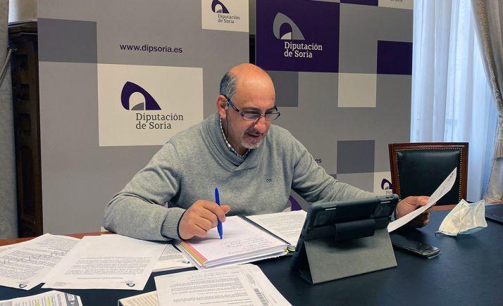 Gustavo Marín, diputado provincial del área de deportes. /Dip.