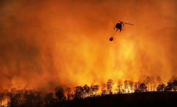 Foto 1 -  Aprobada la contratación de cinco helicópteros para extinción de incendios por 6,8 M€