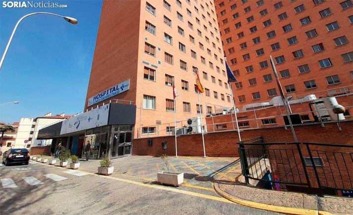 Una imagen de acceso al Clínico Universitario de Valladolid. /SN