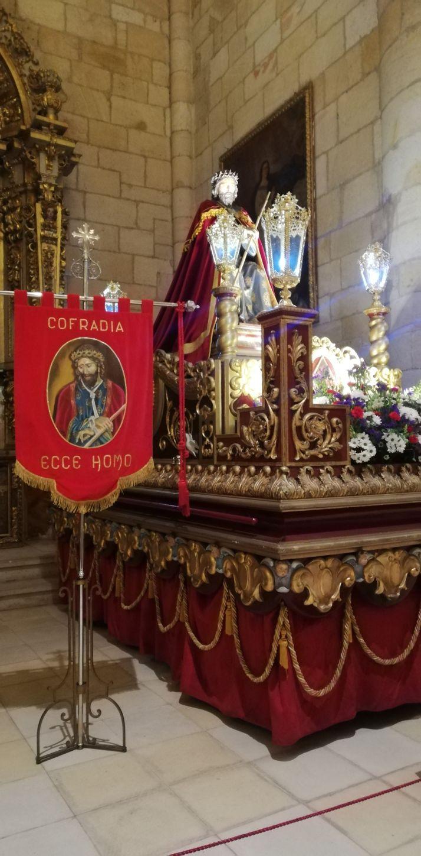 Foto 2 - El Ecce Homo de Soria hará su Vía Crucis online