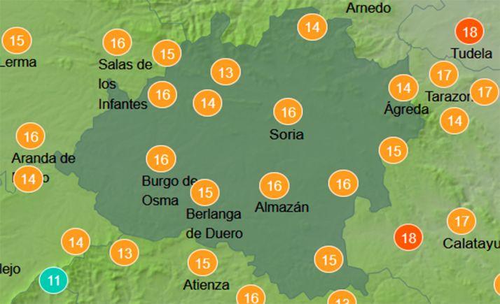 Foto 1 - El tiempo en Soria: Gran amplitud térmica para hoy