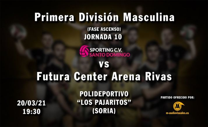 Foto 1 - Directo: Sporting CV Santo Domingo - Futura Center Rivas