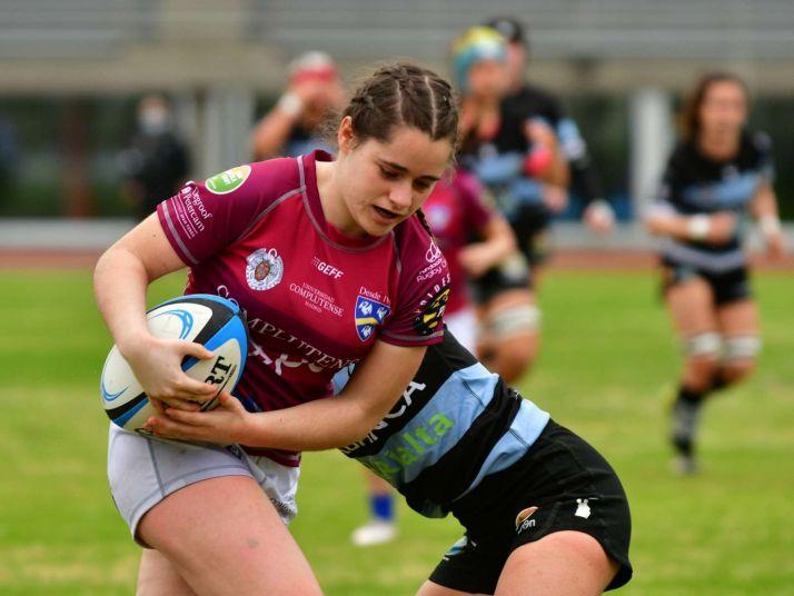 Rosa Blasco, una soriana en la élite del rugby nacional