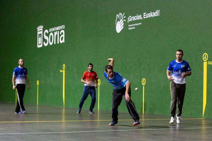 Foto 2 - El campeonato nacional de pelota hace parada en Soria