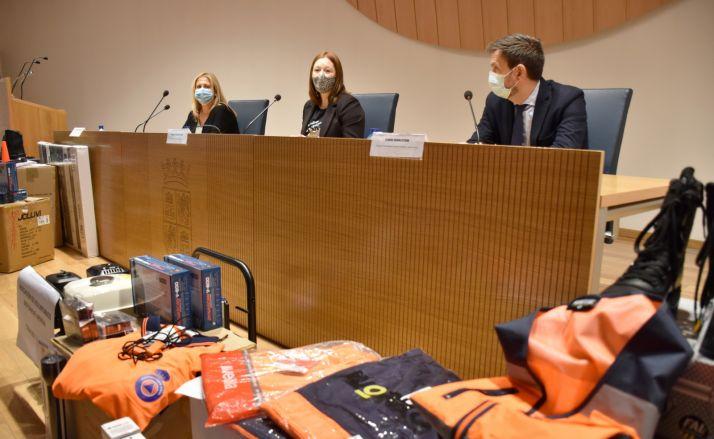 Foto 2 - Nuevo material y medios para el voluntariado de Alconaba, Covaleda, Berlanga y Golmayo