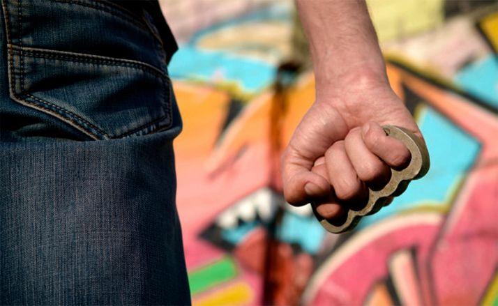Foto 1 - Detenido como presunto autor de una agresión con un puño metálico