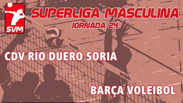 Foto 1 - Directo: Río Duero Soria - Barça Voley