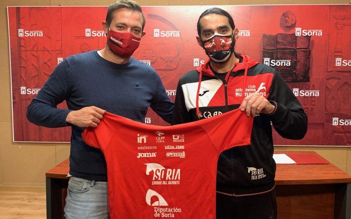 Atletismo Numantino promoverá la imagen de Soria en la Liga División de Honor que comienza en abril
