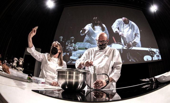 Foto 1 - Castilla y León presenta la calidad de sus productos agroalimentarios a los alumnos del Basque Culinary Center