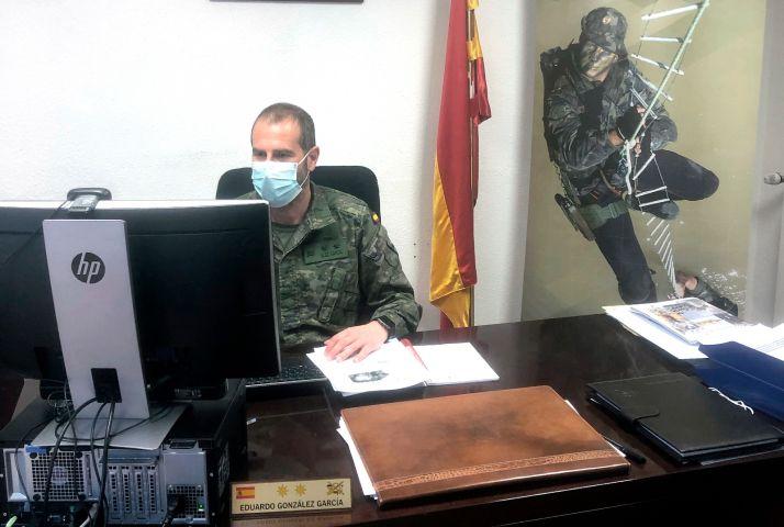 El teniente coronel Eduardo González García, subdelegado de Defensa en Soria. /SDS