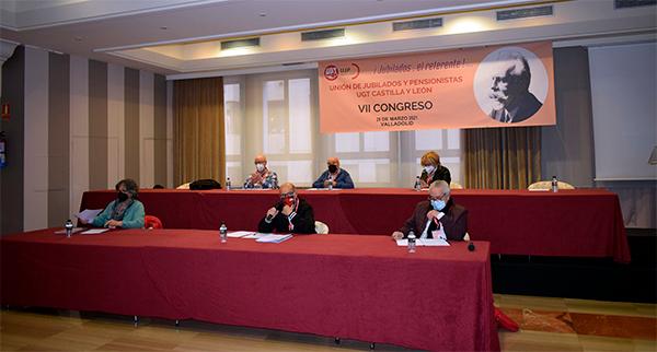 Foto 1 - Pablo Zalama Torres, reelegido como secretario general de UJP-UGT Castilla y León