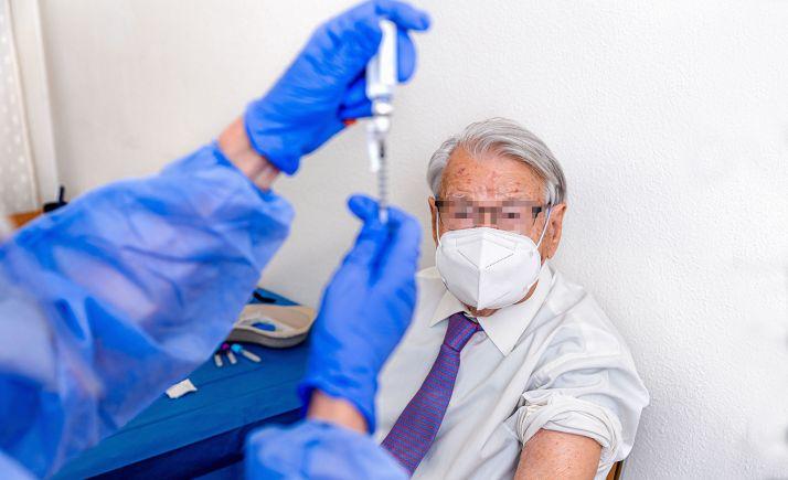 Comienza esta semana la vacunación de personas de 70 a 79 años en la provincia de Soria