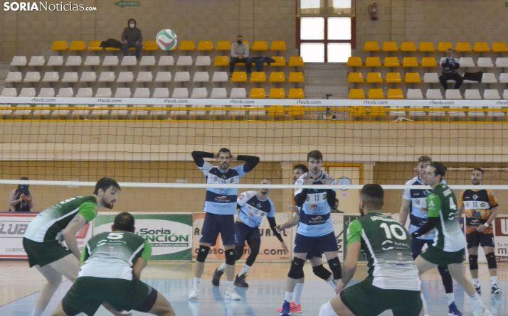 Una imagen del partido del domingo contra el Almería. /SN