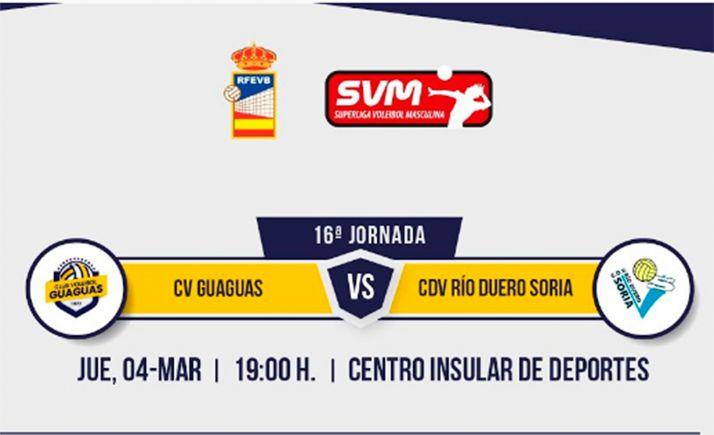 Directo: CV Guaguas - CV Río Duero Soria