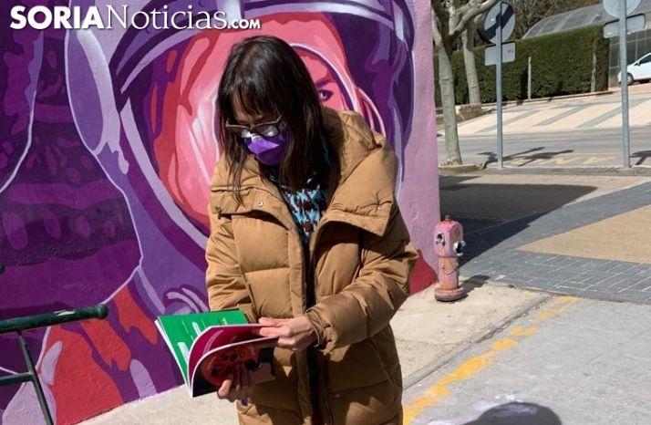 Gloria Gonzalo, concejal de Igualdad.