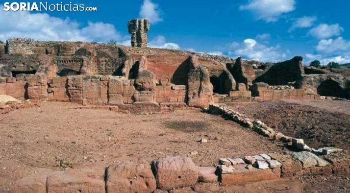 Foto 1 - Luz verde a los trabajos de limpieza y mantenimiento de los yacimientos y monumentos de Soria